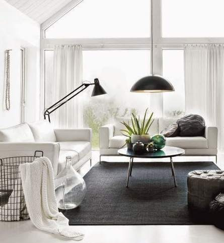 El sof cama en la decoraci n de salones peque os for Sofa cama decoracion