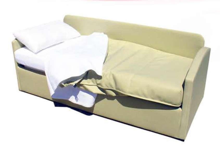 Sof cama convertible modelo monk para hospitales y for Sofa convertible en cama