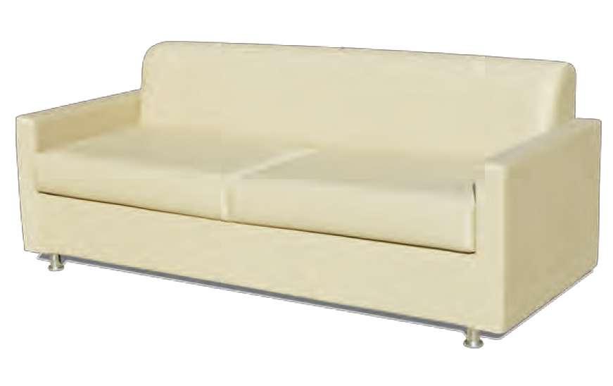 Sof cama convertible modelo siesta para hogar senntar de for Modelos sofas cama