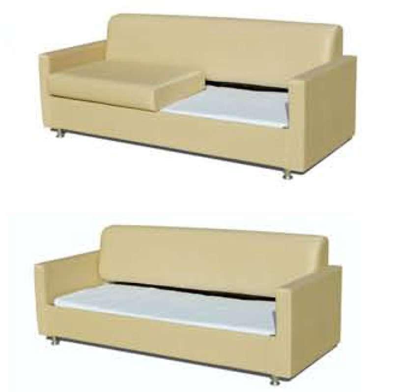 Sof cama convertible modelo sumatra para hospitales y for Sofa convertible en cama