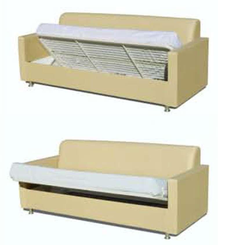 Sof cama convertible modelo sumatra para hospitales y - Sofa cama espana ...